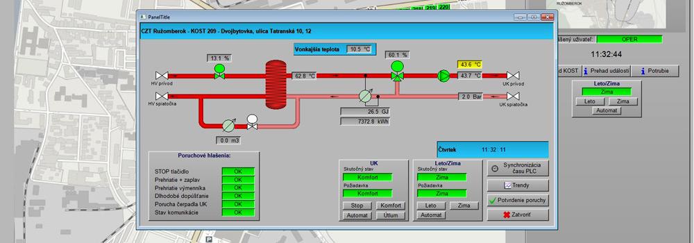 Programování PLC, DSC, průmyslových počítačů, vizualizace, automatizace budov